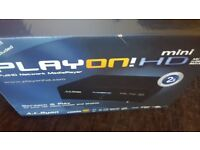 Play on media streamer brand new in box