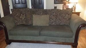 Chenille Couch & Chair