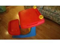 Child's Plastic ELC Desk