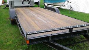 2016 FLAT DECK TRAILER- 10 000LBS Capacity