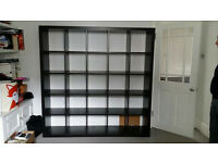 Black Expedit 5*5 blocks shelving unit