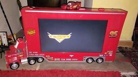 """Disney Cars 19"""" LCD TV and DVD player - Freeview"""