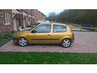 1999 for sale or swap Renault clio 1.4