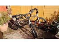 B'twin BMX bikes (two) for Sales