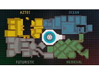 Crystal Maze tickets - Weds 26th Oct - 1 Team/8 People