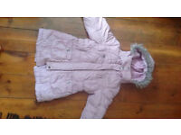 Next girls winter jacket 3-4 yrs