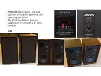 Jensen LS-3b speakers