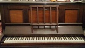 Piano (Joseph wallace and son Ltd london)