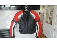 Motorbike jacket unisex