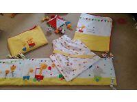 Little circus babies bedroom bed set