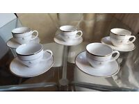 Queen's jubilee 1952 -2002 cup's and saucer's for sale