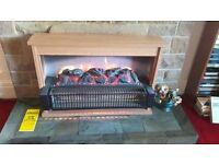 electric 3 bar coal effect fire