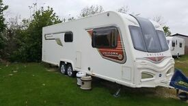 4 berth Bailey unicorn barcalona 2013 fixed bed,call 07974915599