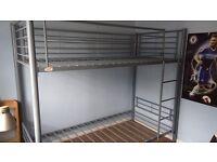 Argos Silver Bunk Bed