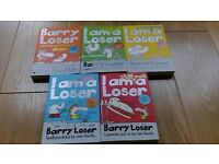 Barry Loser books x 5