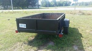 Utility AND landscape trailer