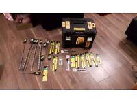 DEWALTDCK206m2 Twin Pack And Drill Bits