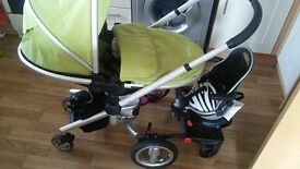 buggy pod perle with adapter