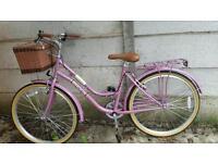 Women bike, with basket
