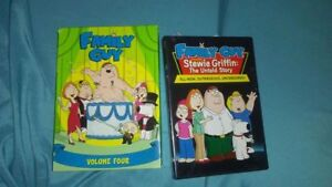 14 DVDS and 1 season of Family Guy
