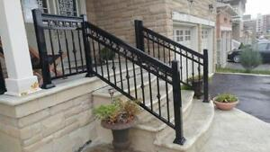 Aluminum Railings, Glass Railings, & Columns - Best Pricing