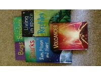 7 x Usborne books various titles