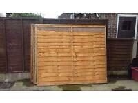 6ft x 5ft Refurbished Fence Panels