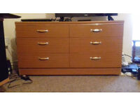 chest of drawers (6 shelves)