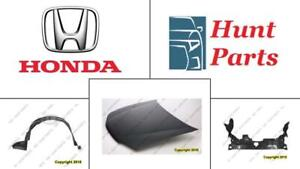 Honda Fit 2009-2010-2011-2012-2013-2014 Hood Fender Liner Inner Engine Splash Shield Mud Guard