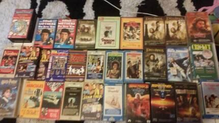 Bulk VHS / VCR rare Videos / Movies / grab a bargain 30 In Total