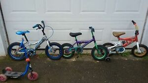young kids bicycle