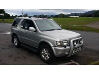 VAUXHALL FRONTERA ONLY 49890 NEW MOT