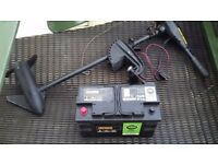 (Boat engine) Outboard + Powerful Leisure Battery