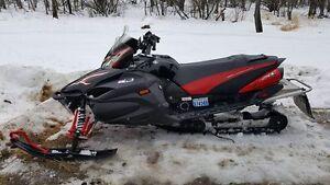 "2008 Yamaha Apex LTX 136"" Snowmobile"