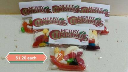 Lolly Bags to suit  all Occasion, Christmas, New Year, Birthdays