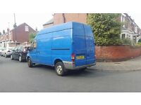 03 ford transit high roof van 2.5L