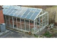 Large green house 6.3m (l) x 3.2 (w) x 2.5(h)