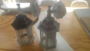 Four (4) Outdoor lamps