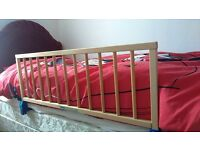 Mothercare wooden bed safety guard