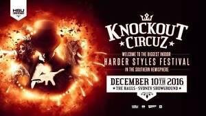 4X Knockout Sydney 2016 Hard copy Tickets Sydney City Inner Sydney Preview