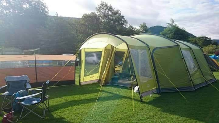 Large Famliy Tent with Porch - Vango Nadina 600 with Carpet and Footprint & Large Famliy Tent with Porch - Vango Nadina 600 with Carpet and ...