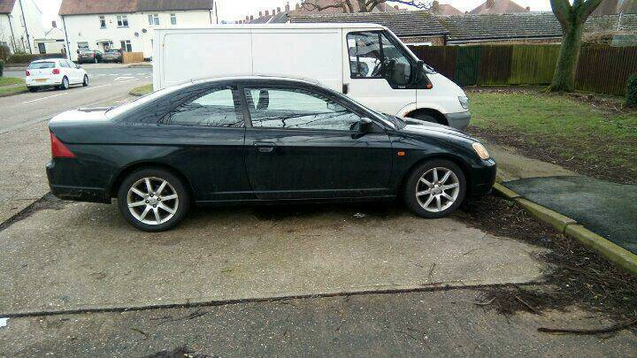 Honda Civic Coupe 1.7vtec 2003 SWAPS BARGAIN AT THIS PRICE