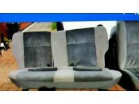 Ford Escort XR3I xr3i RS Turbo mk3 mk4 back rear seats interior