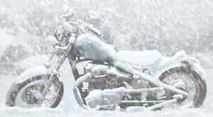 Motorcycle Heated Winter Storage - Let oVc Pamper your Ride