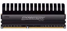 Ballistix Elite 8GB DDR3 1866 MT/s (PC3-14900) UDIMM 240-Pin Memory