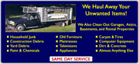 GARBAGE - JUNK - MOVES-DELIVERY? CLEANUPS, SENIORS DISCOUNT!!
