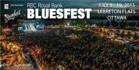TWO 2015 BLUESFEST YOUTH PASSES - ACCESS TO ALL 11 DAYS !!