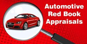 Auto Red Book Appraisals - $40