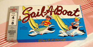 Ancien jeu Somerville Sail-a-boat
