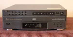 CD 5 pack  -   Sony CDP C322M
